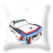 Csl Batmobile Throw Pillow