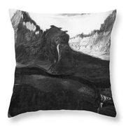 Csontvary: Hight Tatras Throw Pillow