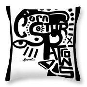 Csp Only  Throw Pillow
