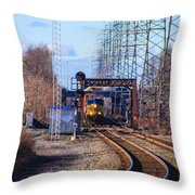 Csx 237 Throw Pillow