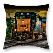 Csx 4226 Throw Pillow