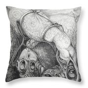 Ctulhu Seedpods Throw Pillow