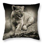 Cub Throw Pillow