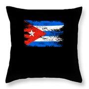 Cuba Flag Gift Country Patriotic Travel Shirt Americas Light Throw Pillow