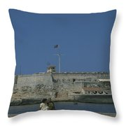 Cuba In The Time Of Castro Throw Pillow