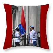 Cuban Raise Throw Pillow