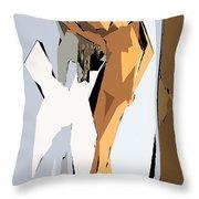 Cubism Series Xvi Throw Pillow