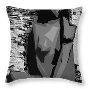 Cubism Series Xvii Throw Pillow