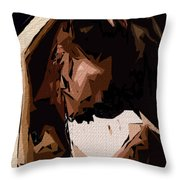 Cubism Series Xxv Throw Pillow