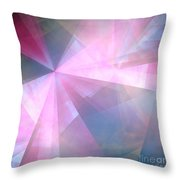 Cubist Background Throw Pillow