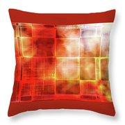 Cubist Throw Pillow