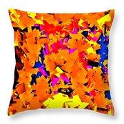 Cubist Tesseract Throw Pillow