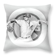 Cubs 2016 Throw Pillow