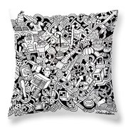 Cuddlebear Throw Pillow