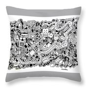 Cuddlebug Throw Pillow