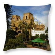 Cuenca Is A World Heritage Site Throw Pillow