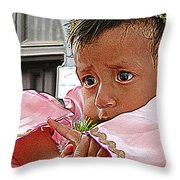 Cuenca Kids 881 Throw Pillow