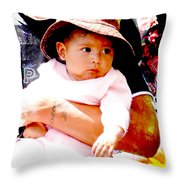 Cuenca Kids 908 Throw Pillow