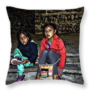 Cuenca Kids 953 Throw Pillow