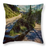 Cuenca, Spain Throw Pillow
