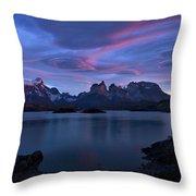 Cuernos Sunrise Part 1 - Chile Throw Pillow