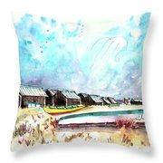 Culatra Island 07 Throw Pillow