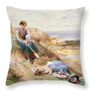 Cullercoats Throw Pillow