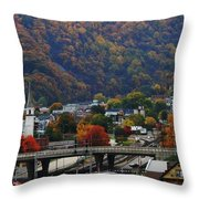 Cumberland In The Fall Throw Pillow