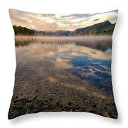 Cumbrian Autumn Throw Pillow