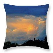 Cumulonimbus Cloud  Throw Pillow