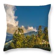 Giant Over The Mountains Throw Pillow