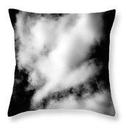 Cumulus Congestus Clouds Dog Shapes Throw Pillow
