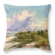 Cumulus  Throw Pillow
