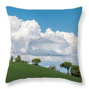 Cumulus Sky Throw Pillow