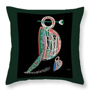 Cup Of Sparkles Throw Pillow