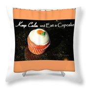 Cupcake Shower Curtain Kip Krause Throw Pillow