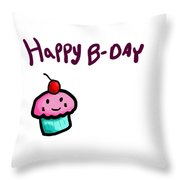 Cupcake Throw Pillow