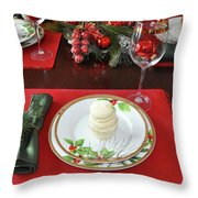 Cupcakes Placed Throw Pillow
