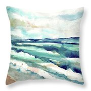 Cupecoy 2, Sint Maarten, Netherlands Throw Pillow