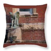 Cupid Misses Throw Pillow