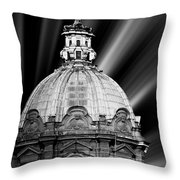 Cupola In Rome Throw Pillow