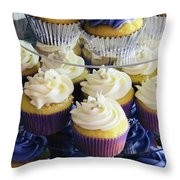 Cuppy Cakes Throw Pillow