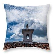 Cupula Antigua Guatemala 1 Throw Pillow