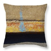 Curb Throw Pillow