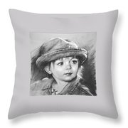 Curios Throw Pillow