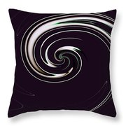 Curl Up Throw Pillow