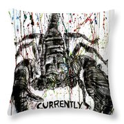 Currently For Sale Throw Pillow