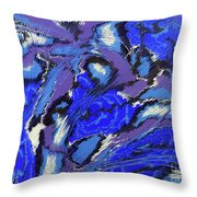 Currents And Tides  Throw Pillow