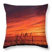 Currituck Sunset II Throw Pillow