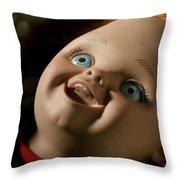 Curse Of Chucky Throw Pillow